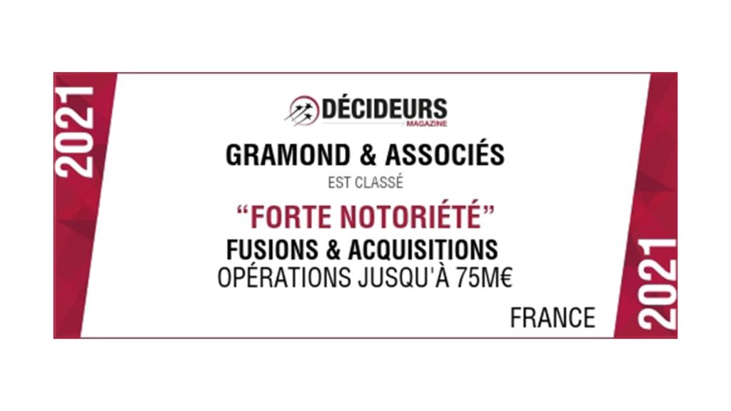 Fusions & Acquisitions - Opérations jusqu'à 75M€